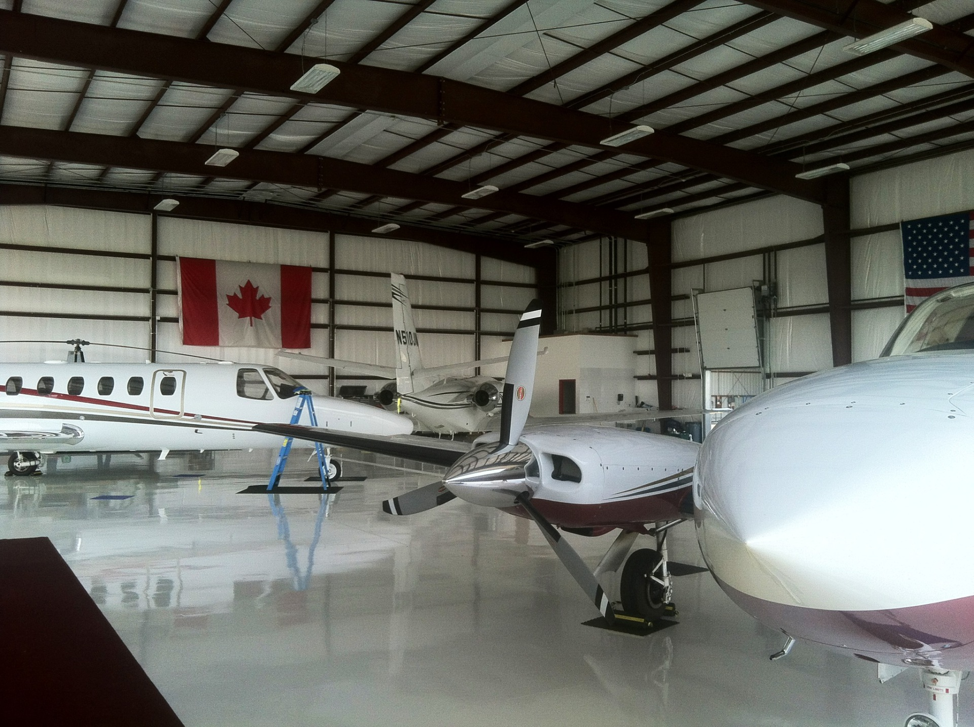 Marshfield Airport's Jet Hangar
